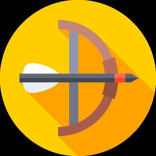 tiro al arco  icono gratis