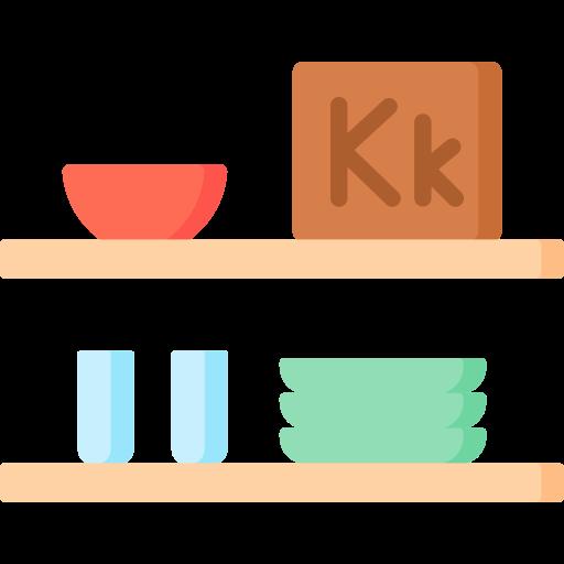Kitchen shelf  free icon