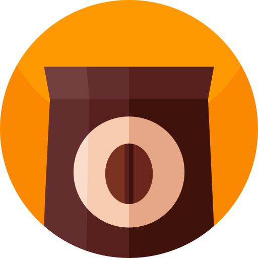 Coffee pack  free icon