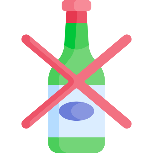 no alcohol  icono gratis