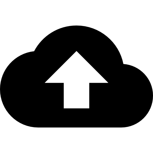 Computing cloud  free icon