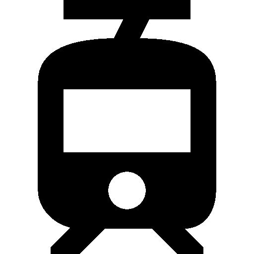 Tram  free icon