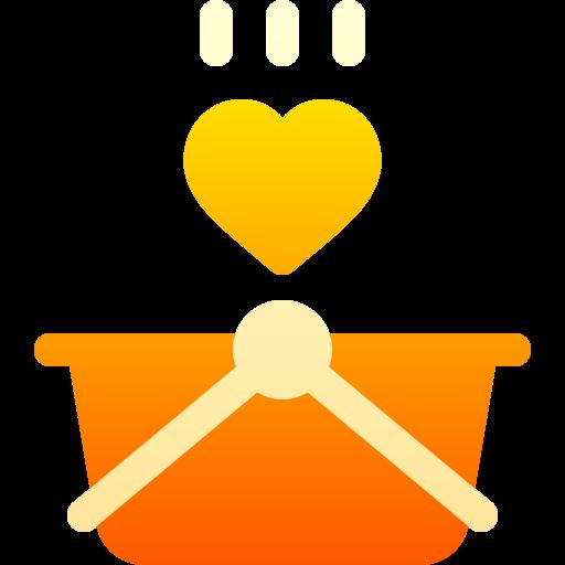 cesta de la compra  icono gratis
