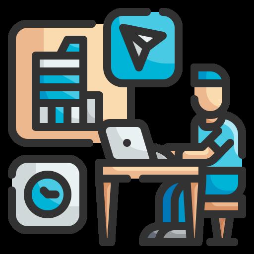 Freelance  free icon