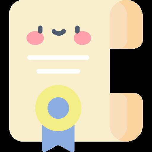 diploma  icono gratis