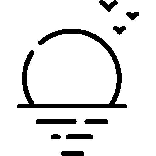 Sunset  free icon