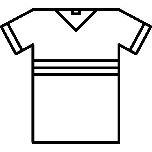 camiseta esportiva  grátis ícone
