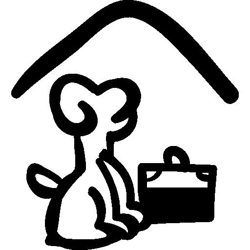 Гостиница для домашних животных  бесплатно иконка