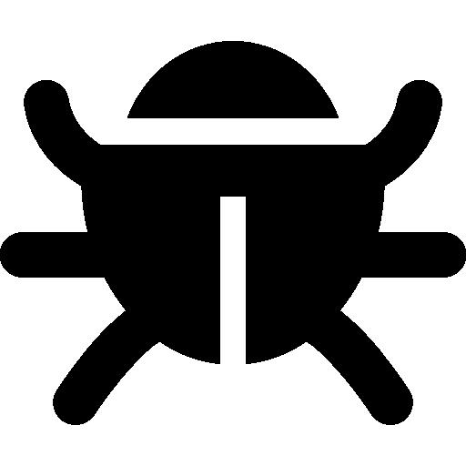Virus bug  free icon