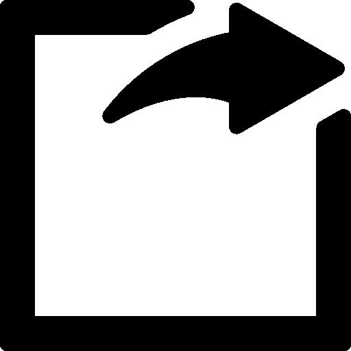 Logout square button  free icon