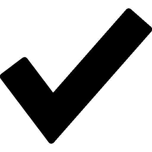 marca de verificação para verificação  grátis ícone
