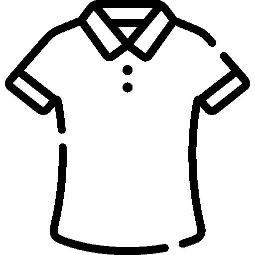 Polo shirt  free icon