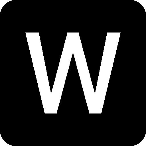 microsoft word 로고  무료 아이콘
