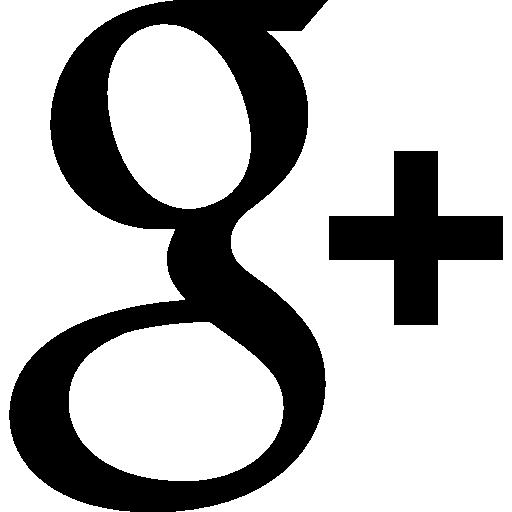 Google plus logo  free icon