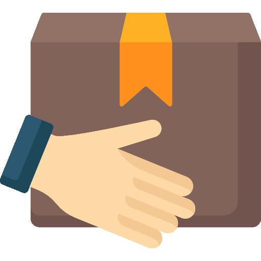 paquete  icono gratis