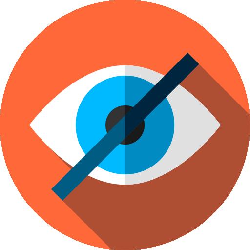 Invisible  free icon