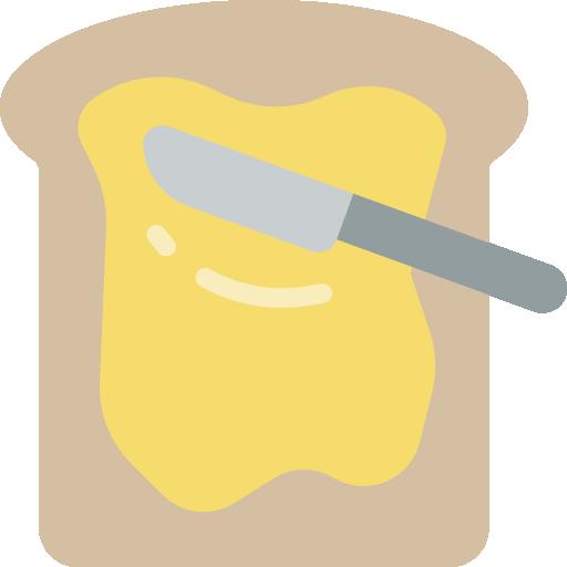 tostada  icono gratis