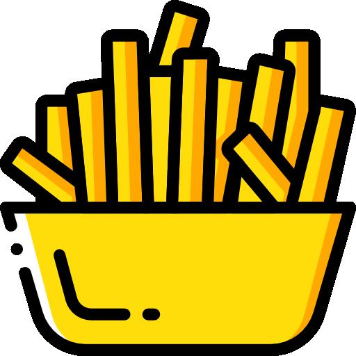 감자 튀김  무료 아이콘