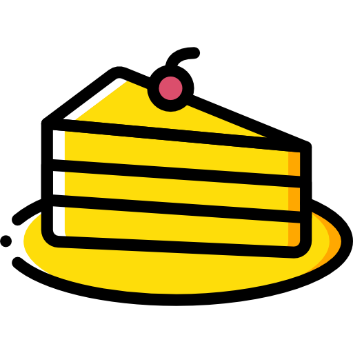 stück kuchen  kostenlos Icon