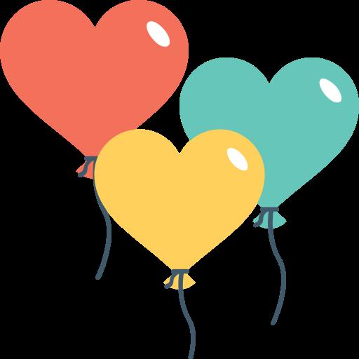 globos  icono gratis