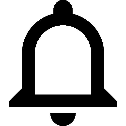 bouton de cloche de notifications  Icône gratuit