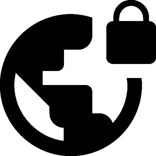 Virtual Private Network VPN symbol  free icon