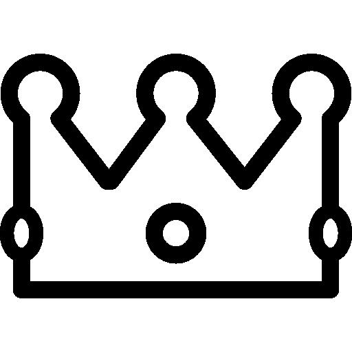 krone mit juwelen  kostenlos Icon