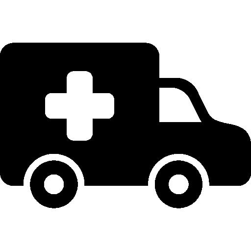 krankenwagen seitenansicht  kostenlos Icon