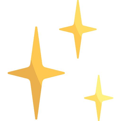 destellos  icono gratis