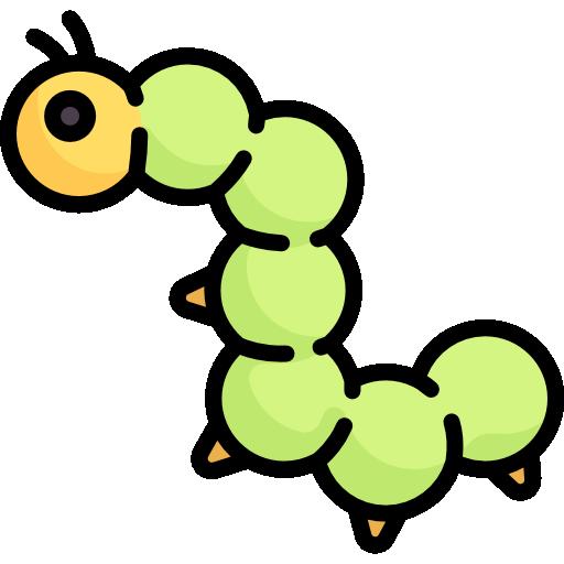 Caterpillar  free icon
