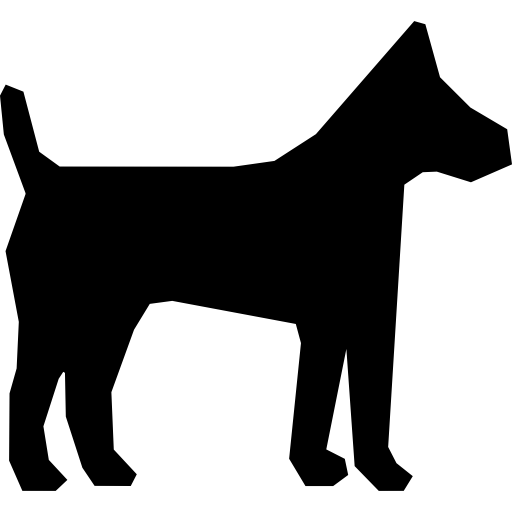 Plain dog  free icon