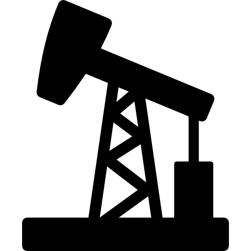 Oil pumpjack extraction  free icon