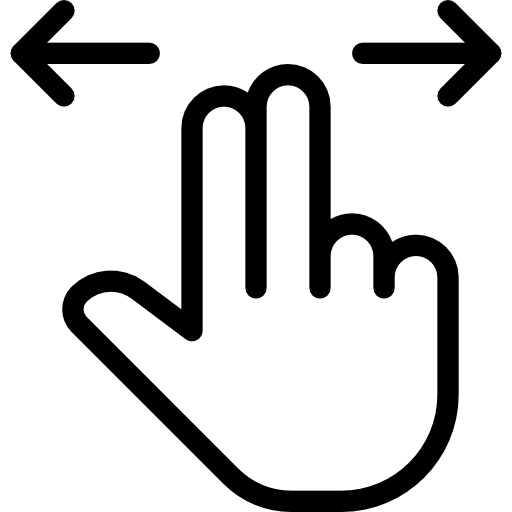 Swipe  free icon