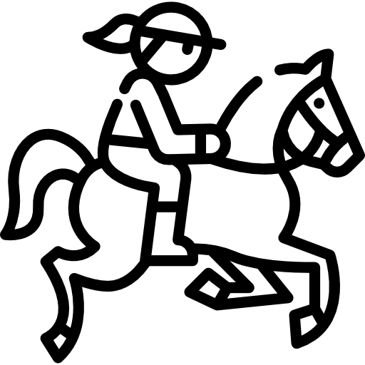 Horseback free icon