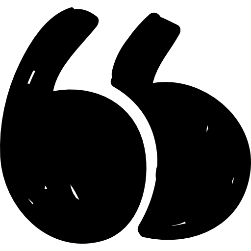 Quotation mark  free icon
