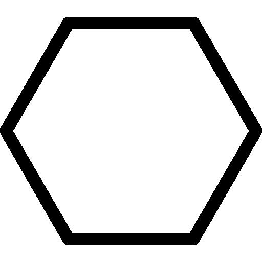 hexagone  Icône gratuit