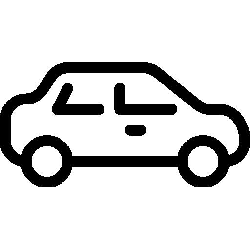 sedán  icono gratis