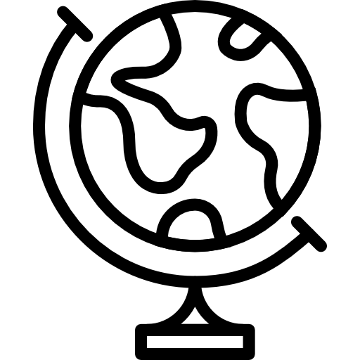 Earth globe  free icon