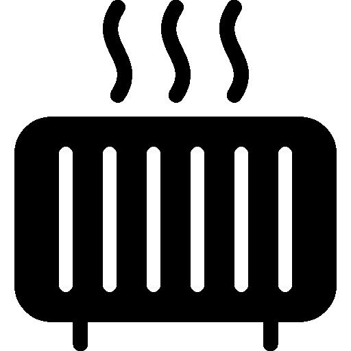 Heater  free icon