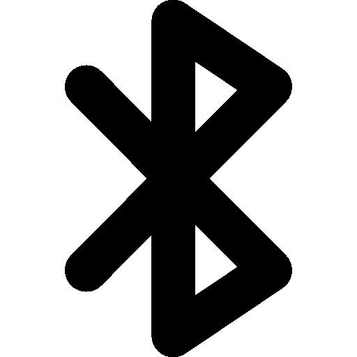 Bluetooth signal  free icon