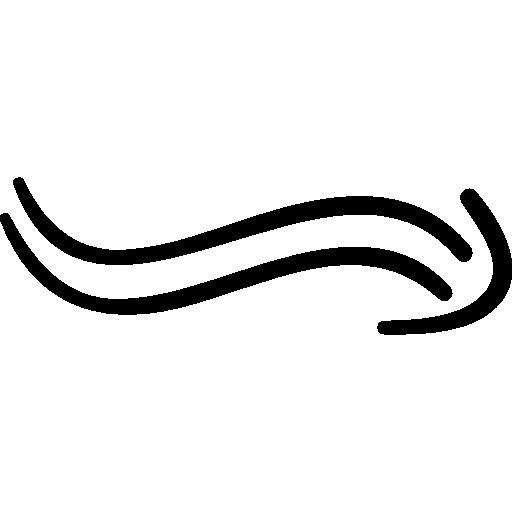 물결 치는 화살  무료 아이콘
