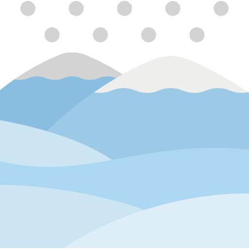 Mountains  free icon