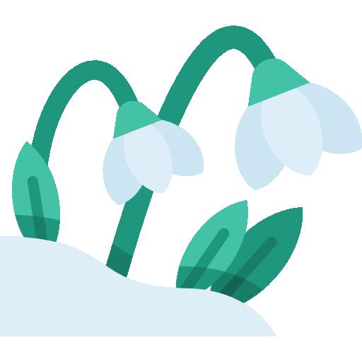 campanilla de febrero  icono gratis