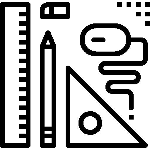 herramienta gráfica  icono gratis