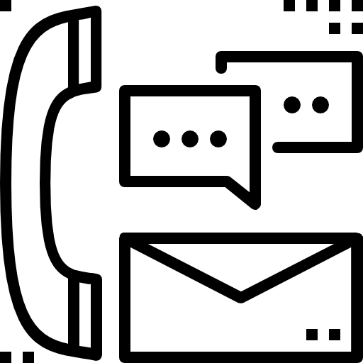 comunicación  icono gratis