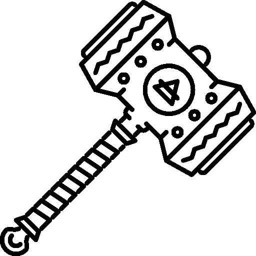 martillo  icono gratis