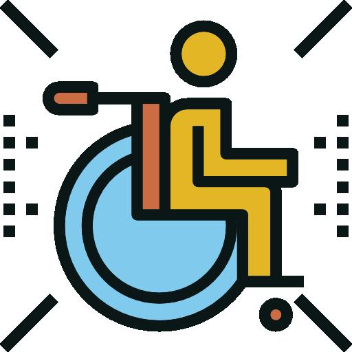 fauteuil roulant  Icône gratuit