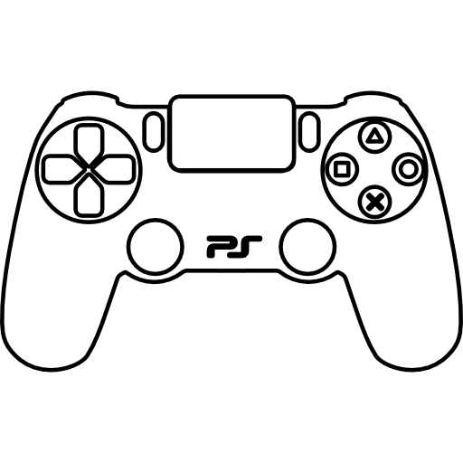PS4 controller  free icon