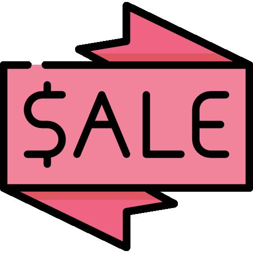 Étiquette de vente  Icône gratuit