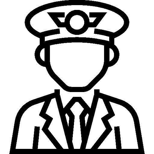Pilot  free icon